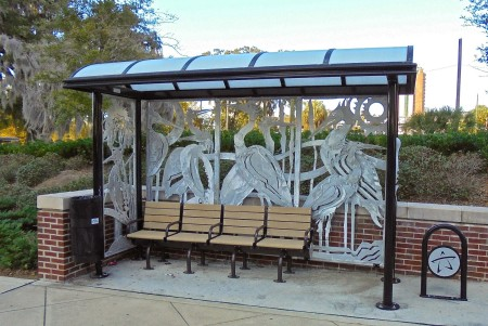 Birds Bus Shelter