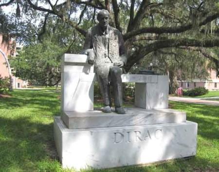 Paul A. M. Dirac Statue