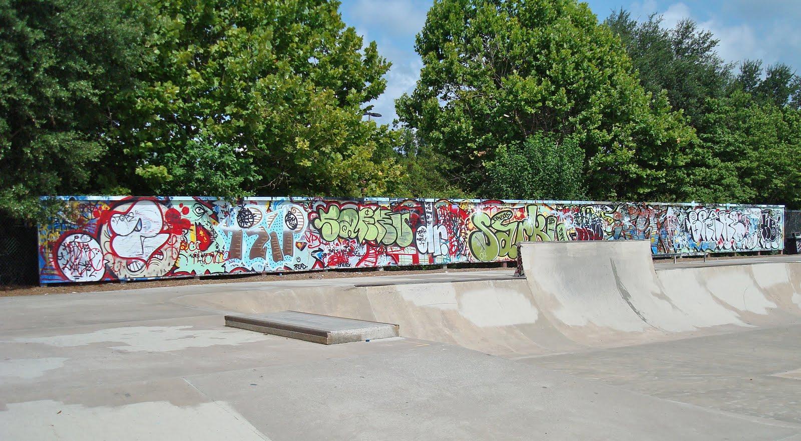 Skate Park Tag Wall Tallahassee Arts Guide