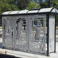 Construction Bus Shelter