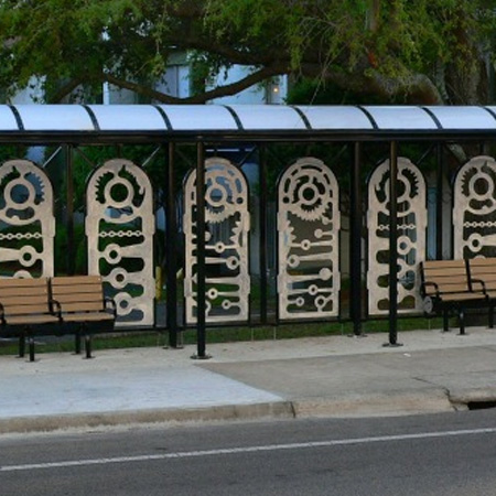 Call Street Bus Shelter Tallahassee Arts Guide