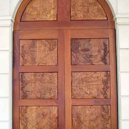 Ceremonial Wooden Doors