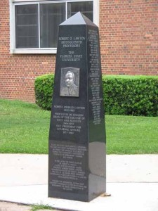 Robert O. Lawton Distinguished Professors Monument...