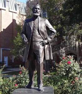President George Edgar Statue