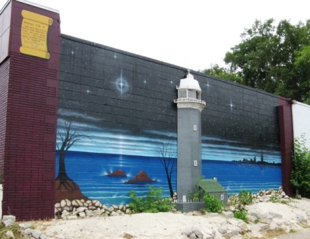 Holy Temple Lighthouse Mural