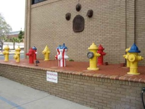 Hydrant Memorial Garden