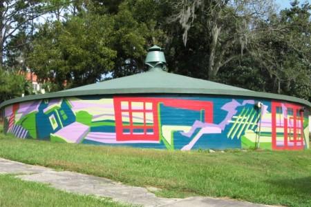 Waterworks Cistern Mural