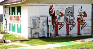 Marching 100 Mural