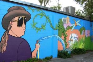 Midtown Gardener Mural