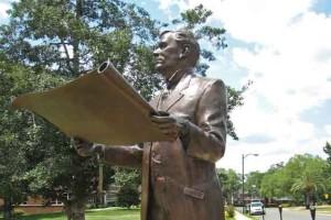President Albert A. Murphree Statue