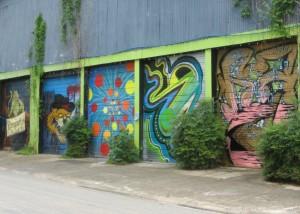 Dumpster Lords Murals