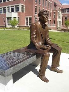 President Sandy D'Alemberte Statue