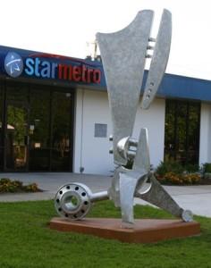 "StarMetro ""Transit"" Sculpture"