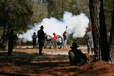 151st Anniversary and 39th Annual Reenactment of the  Battle of Natural Bridge