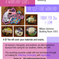 Create More Fear Less Workshop Series: What About Self-Care?