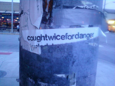 Cough Twice for Danger