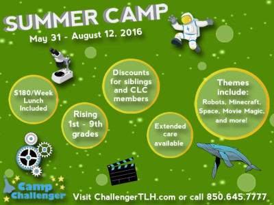 Camp Challenger Summer Camps
