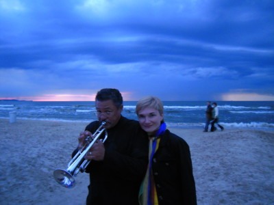Duo Paloma and Longineu Parsons Ensemble in concert