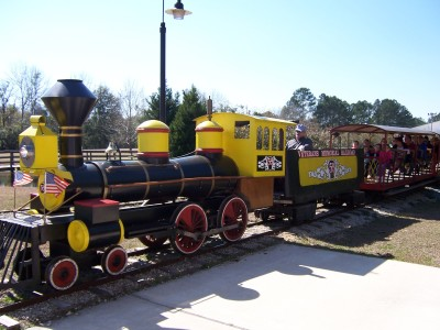 Free Train Rides - April 9