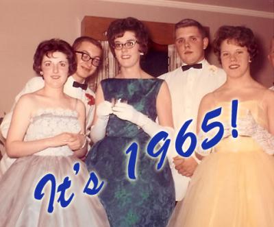 1965 Prom Dresses