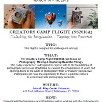 Spring Break Camp: Creator's Camp Flight