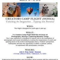 Spring Break Camp: Creator's Camp Flight