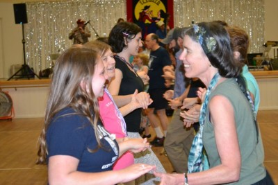 Tallahassee Contra Dance with Wild Asparagus and George Marshall