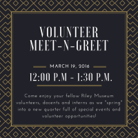 Volunteer Meet-n-Greet