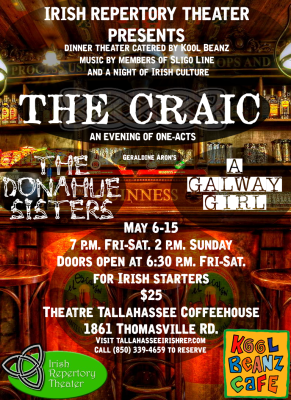 The Craic: Irish Dinner Theater sponsored by Kool Beanz Cafe