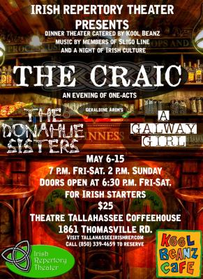 The Craic: Irish Dinner Theater sponsored by Kool Beanz Cafe