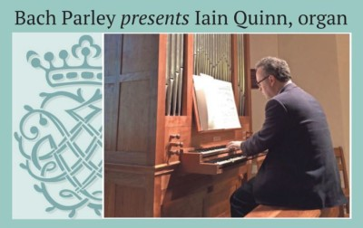 The Tallahassee Bach Parley presents Iain Quinn, organ
