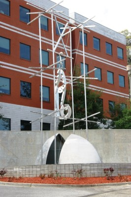 Fred Humphries Building Sculpture