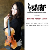 Artist Series presents Simone Porter, violin