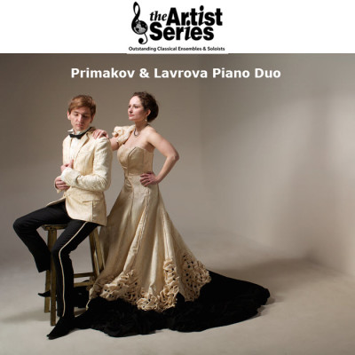 Artist Series presents Vassily Primakov & Natalia Lavrova, pianos