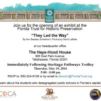 "Exhibit Opening & Reception ""They Led the Way"""