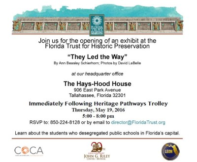 """Exhibit Opening & Reception """"They Led the Way"""""""