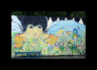 Miccosukee Land Co-op Mural