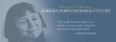 Barbara Deming Memorial Fund Grant