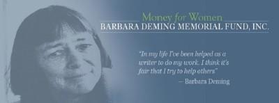 Barbara Deming Memorial Fund Grant