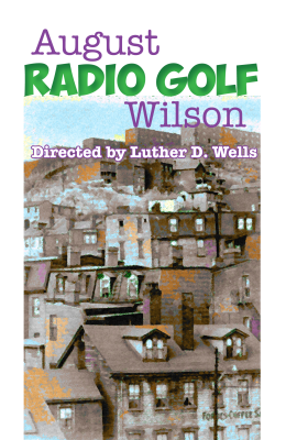 Radio Golf by August Wilson