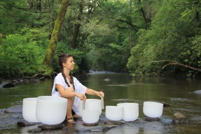 Sound Healing Journey: Crystal Singing Bowl