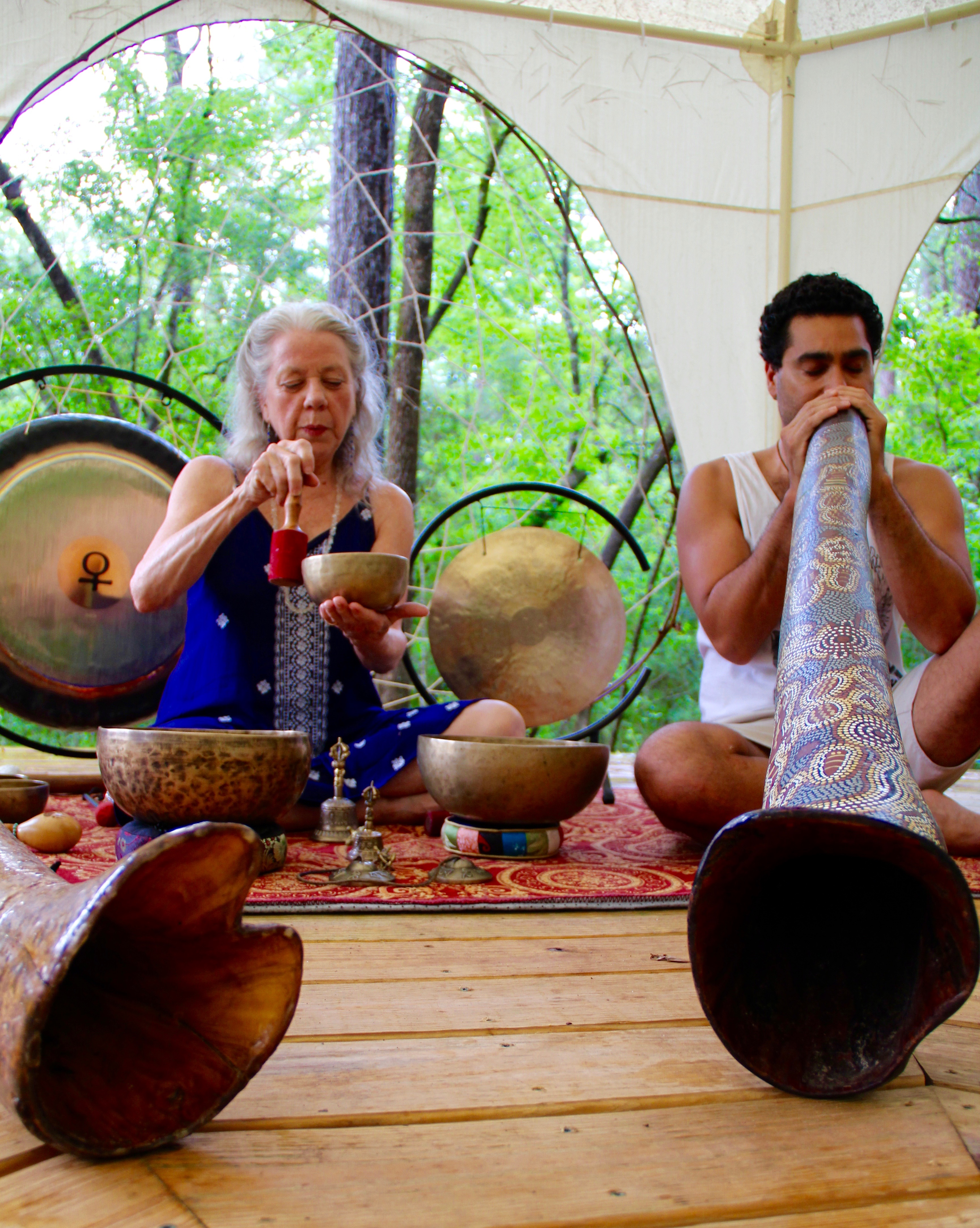 Sound Healing Journey: Singing Bowls & Didgeridoo presented by