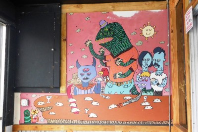 Taco Monsters Mural