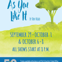 The Curate Shakespeare: As You Like It: at Theatre TCC!