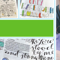 Bible Journaling with Laura Kelley of PitterPatterArt