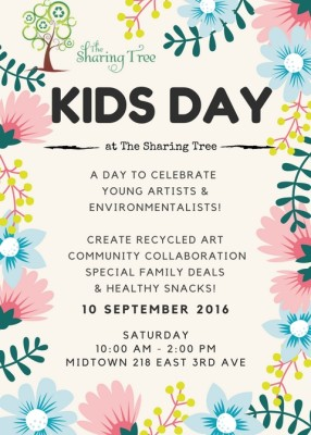 Kids Day at The Sharing Tree