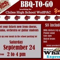 Lawton Chiles High School WolfPAC BBQ Fundraiser