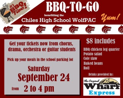 Lawton Chiles High School WolfPAC BBQ Fundraiser