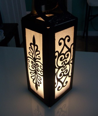 Let's Make Lanterns! (Wrought Iron Look)