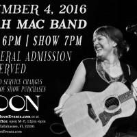 Sarah Mac Band at The Moon